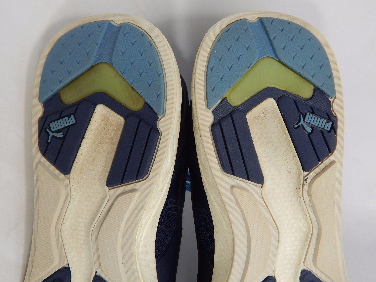 Puma 698 Ignite Men's Athletic Running Shoes Size US 11 M (D) EU 44.5 White Blue