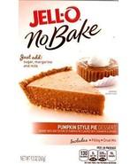 Jell-O No-Bake Pumpkin Style Pie Dessert, 9.2-Ounce Box (2 PACK) - $13.85