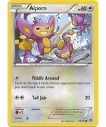 Aipom 90/114 Common XY Steam Siege Pokemon Card - $0.39