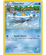 Clauncher 33/114 Common XY Steam Siege Pokemon ... - $0.39
