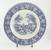 """Homer Laughlin Shakespeare Country Stratwood Collection Blue 10"""" Dinner ... - $6.94"""