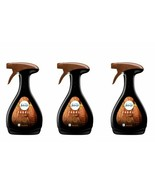 (3 Pack) Febreze Air FABRIC REFRESHER Spray WOOD Scent 16.9 oz Amber Out... - $32.66