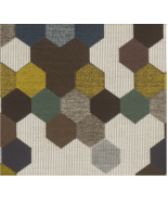 Carnegie Upholstery Fabric Maxwell Street Geometric Tapestry 6.375 yd 64... - $260.42