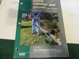 String Trimmer & Blower Repair Manual - $9.89