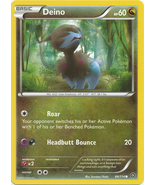 Deino 84/114 Common XY Steam Siege Pokemon Card - $0.39