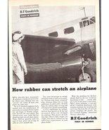 1947 B.F.Goodrich Rubber De-Icers print ad - $10.00