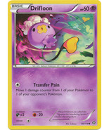 Drifloon 46/114 Common XY Steam Siege Pokemon Card - $0.39