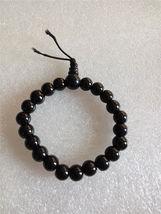 Black Elastic Glass Bead Bracelet C/S & H Available - $6.50