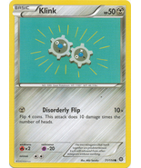 Klink 71/114 Common XY Steam Siege Pokemon Card - $0.39