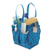 Portable Shower Caddy with Handles Blue - $23.81