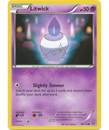 Litwick 48/114 Common XY Steam Siege Pokemon Card - $0.39