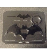 Batman Keychain Multi tool DC comics Black Scre... - $7.99