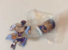 Detroit Pistons Teenymates NBA Mini Figure & Pu... - $2.00
