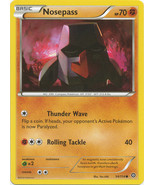 Nosepass 54/114 Common XY Steam Siege Pokemon Card - $0.39