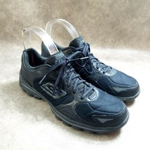 Skechers Womens Go Walk Flash 13973 Size 9 Black  Leather Running Shoes - $24.99
