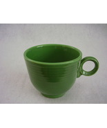 Vintage Fiestaware Medium Green Ring Handle Teacup Fiesta  D - $65.00