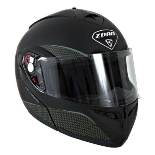 New 3XL Zoan Optimus Matte Black Modular Snowmobile Snow Helmet 038-039SN