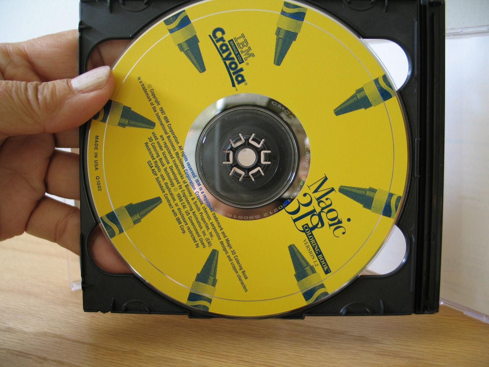 5 IBM Crayola PC/Mac CD Rom Games-Paper and 46 similar items