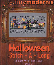 Halloween Stitch-A-Long Part 3 cross stitch chart Tiny Modernist  - $3.00