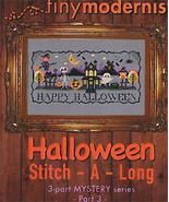 Halloween Stitch-A-Long Part 3 cross stitch chart Tiny Modernist  - $3.00