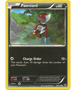 Pawniard 63/114 Common XY Steam Siege Pokemon Card - $0.39