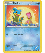 Shellos 28/114 Common XY Steam Siege Pokemon Card - $0.39