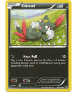 Sneasel 60/114 Common XY Steam Siege Pokemon Card - $0.39