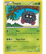 Tangela 1/114 Common XY Steam Siege Pokemon Card - $0.39