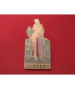 Rebekah Lapel Hat Pin Souvenir Collector Collectible Religious Enamel - $6.95