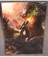 Boba Fett vs The Predator Glossy Print 11 x 17 ... - $24.99