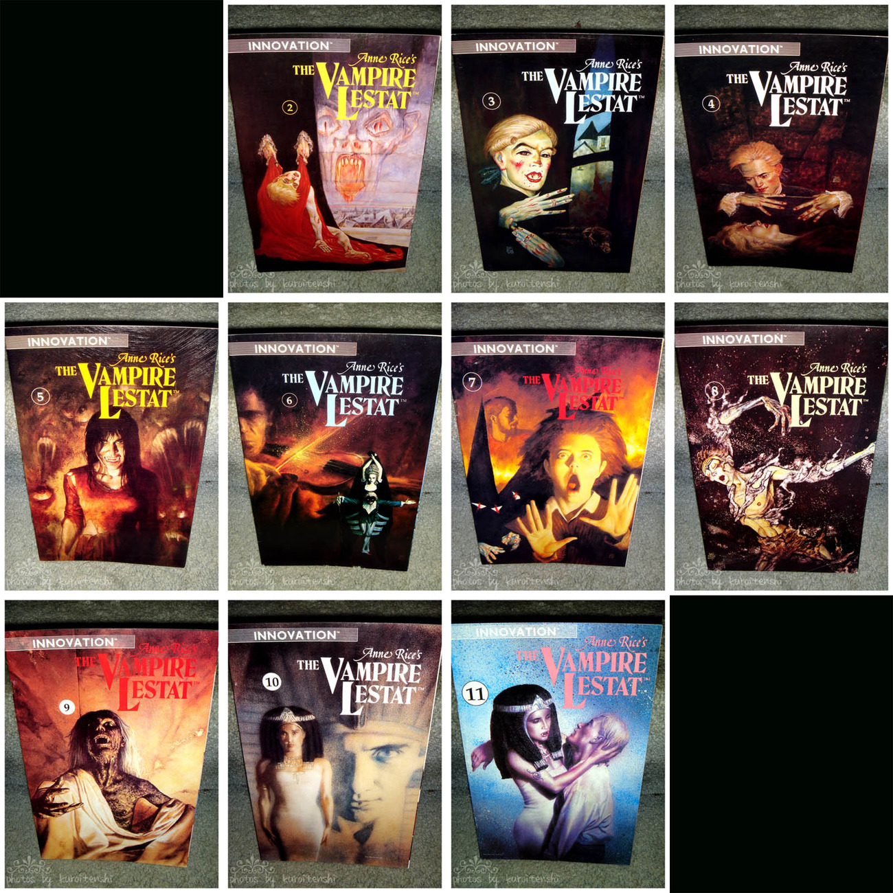 The Vampire Lestat Comic issues 3-11