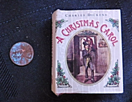 Charles Dickens A Christmas Carol Mini Book - $3.99