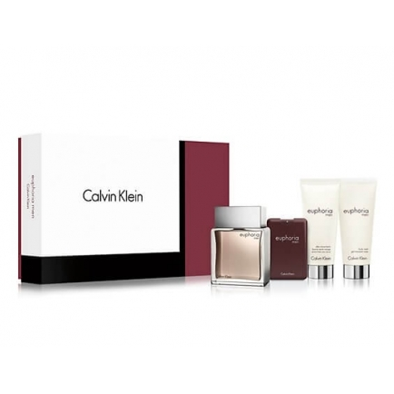 Calvin klein euphoria cologne 4 pcs set