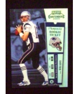 2000 Playoff Contenders Rookie Ticket #144 Tom Brady [Patriots] RC_Repro - $5.00