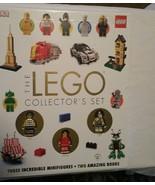 The Lego Collector's Set Books + 3 Lego Minifigures - $38.56