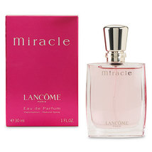 Miracle by Lancome for Woman, 1.0 fl.oz / 30 ml Eau De Parfum Spray - $49.98