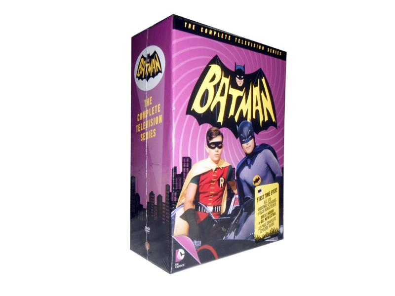 Batman The Complete Television Series Seasons 1-3 DVD 18 Disc Set Free Shipping