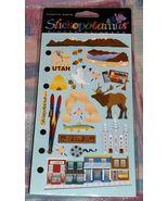 Stickopotamus Binder Stickers Utah Scrapbook Ph... - $2.45
