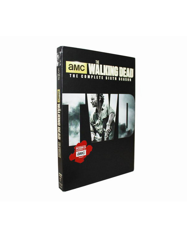 New The Walking Dead The Complete Season 6 DVD Box Set 5 Disc Free Shipping