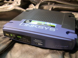 Linksys Wireless G Broadband Router Wrt54 Gs V5   No Power Cord - $7.00