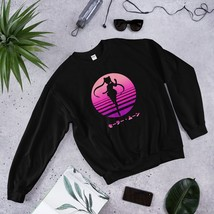 Sailor Moon Sweatshirt, Sailor Moon, Usagi Tsukino, Anime, Vaporwave, Aesthetic, - $37.60