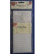 Adult Coloring Book Grocery List Notepad Paisle... - $5.94