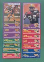 1989 Score Green Bay Packers Football Team Set - $5.00