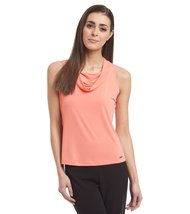 Calvin Klein Cowl-Neck Women's Sleeveless Cami Top (Size Petite Large) - $29.99