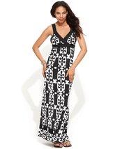 Inc International Concepts Beaded Crochet-Trim Sleeveless Maxi Dress (Bl... - $69.99
