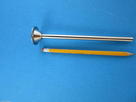 "3/8"" (9mm) 1 9/16"" base  Stainless Steel sausage stuffer tube funnel Cabelas etc - $17.40"