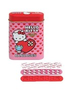 Hello Kitty Adhesive Bandages Set in Collectibl... - $3.99