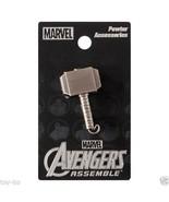 Thor Mjolnir Hammer Marvel Comics Pewter Lapel ... - $2.99