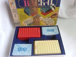 VINTAGE 1961 RACK-O #4765-CARD/BOARDGAME-FAMILY GAME-COMPLETE-ORIGINAL BOX - $10.99