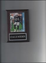 Charles Woodson Plaque Oakland Raiders Football Nfl - $0.49